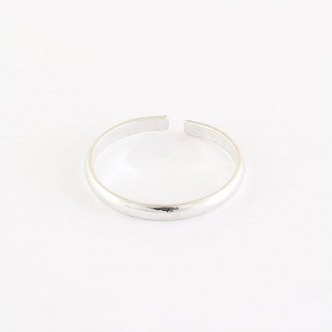1.8mm Plain Band Toe Ring