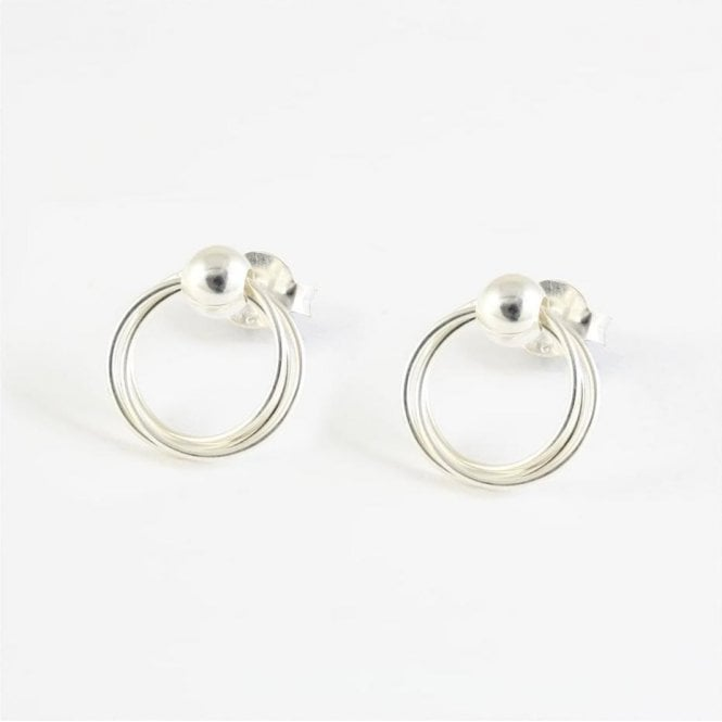 10mm Twisted BCR Hoop Stud