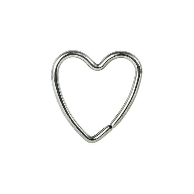 12mm Heart Daith Ring