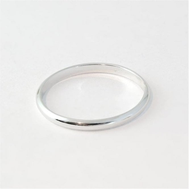 2mm Rounded Court Ladies Ring