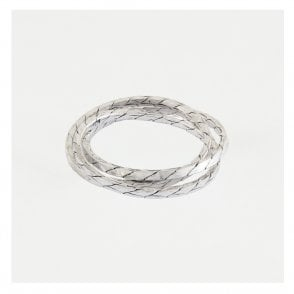 3 Band Rope Russian Wedding Ring