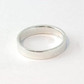 4mm Flat Court Ladies Ring