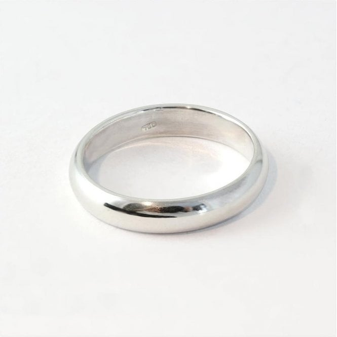 4mm Rounded Court Ladies Ring