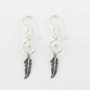 8mm Dreamcatcher Earrings