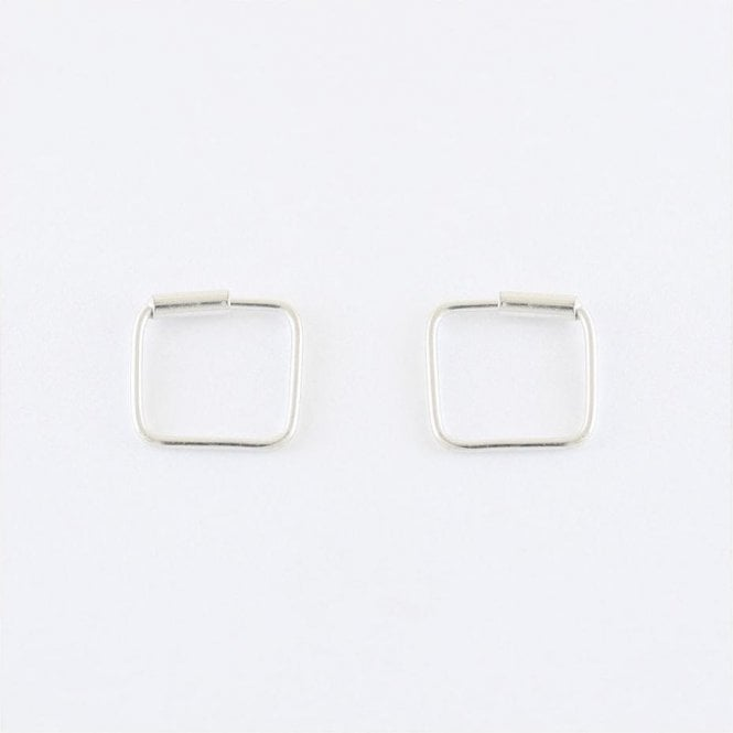 8mm Square Hoops