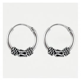 Bali Endless Hoop Earrings 10mm