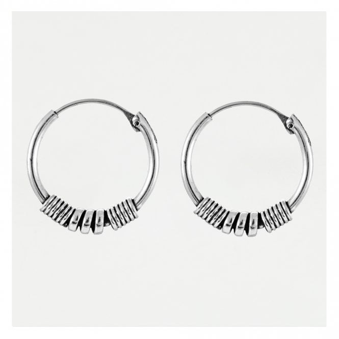 Bali Endless Hoop Earrings 14mm