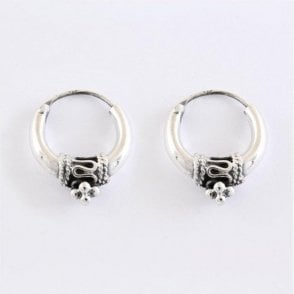 Bali Hoop Earrings - 16mm