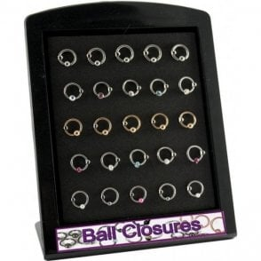 Ball Closure Ring Display