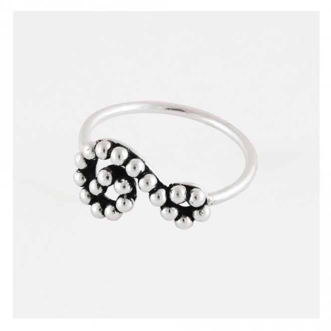 Ball Swirl Ring