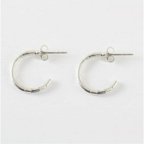 Bamboo Half Hoop Earrings