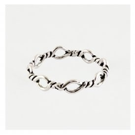 Barbed Wire Band Ring