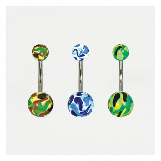 Camouflage Belly Bar