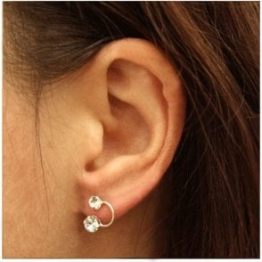 Charming Drop Stud Earrings