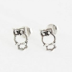 Children's Owl Ear Studs
