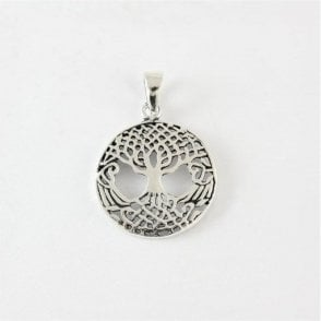 Circular Tree of Life Pendant