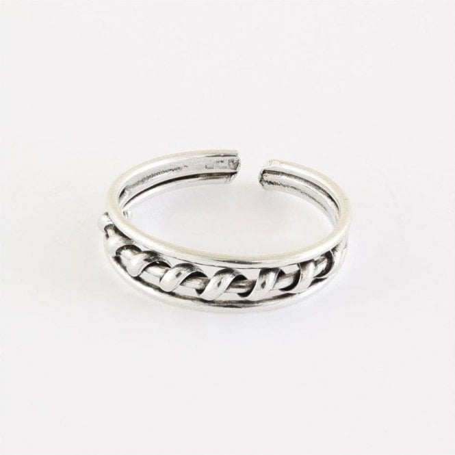 Coil Band Toe Ring