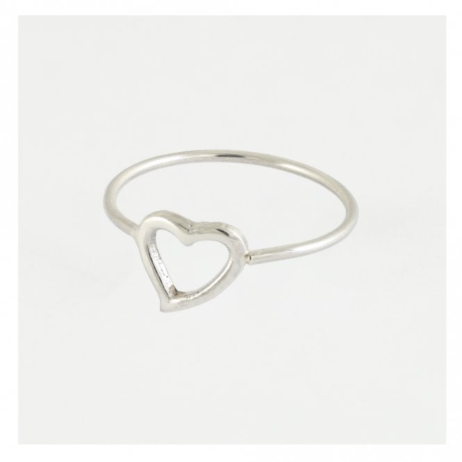 Cut Out Heart Ring