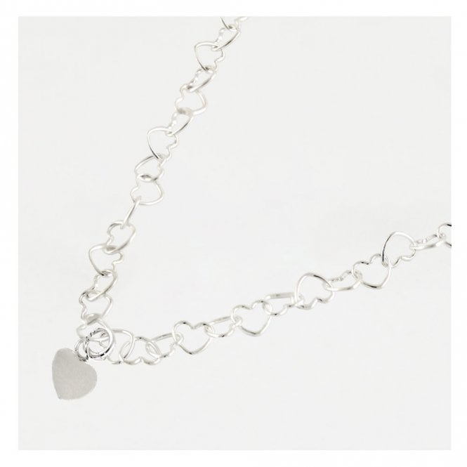 Cut Out Hearts Anklet