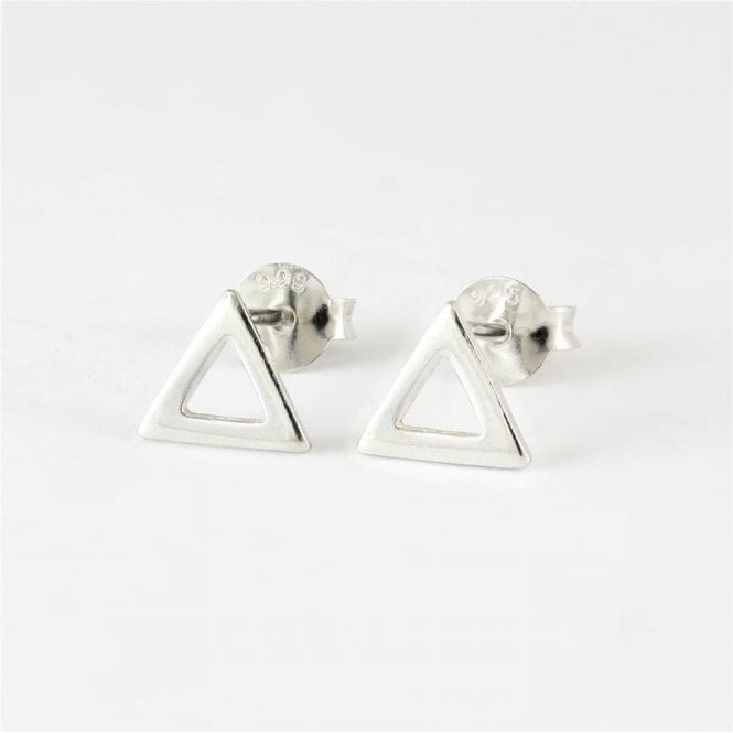 Cut Out Triangle Studs