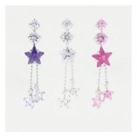 Dangling Top Drop Star Belly Bar
