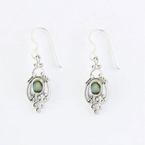 Decorative Abalone Set Earrings