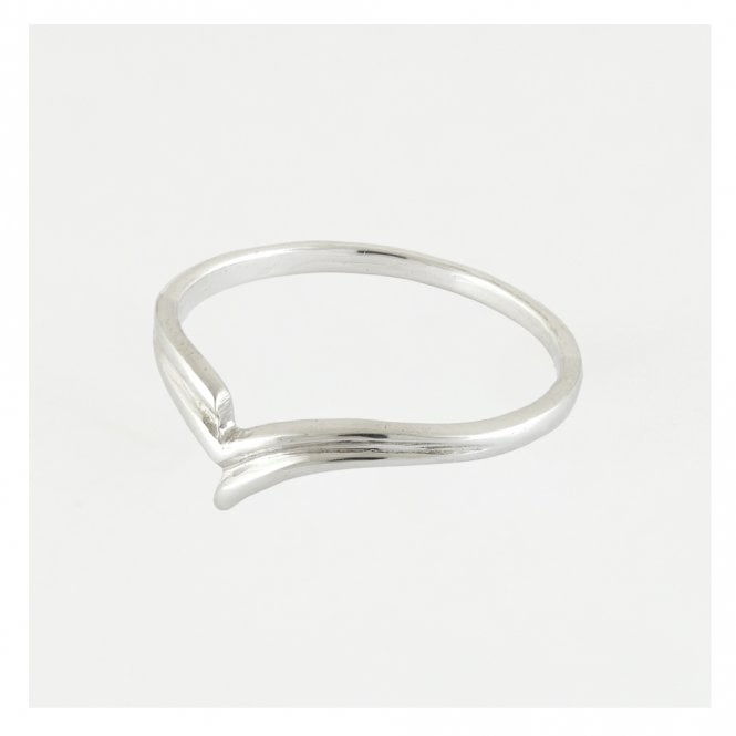 Decorative V Band Ring