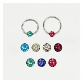 Disco Ball Closure Ring (BCR) - 1.2mm
