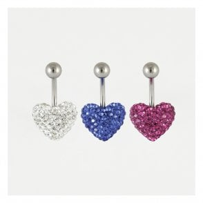 Disco Heart Belly Bar