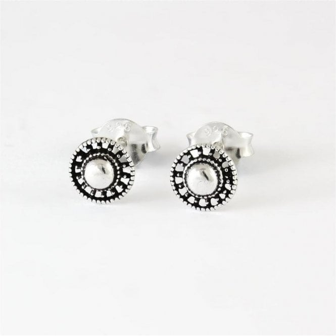 Domed Flower Stud