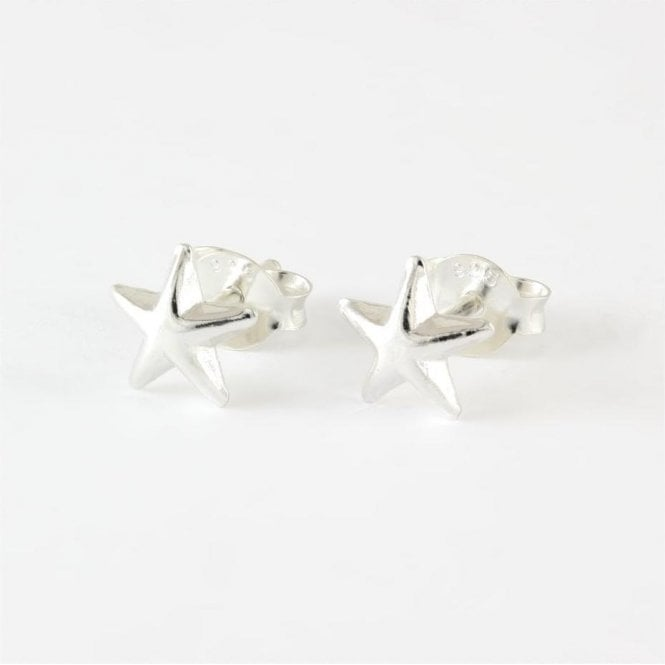 Domed Star Studs