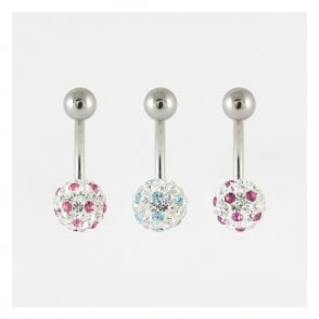 Dotty Disco Ball Belly Bar