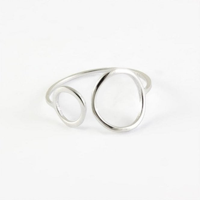 Double Circles Ring