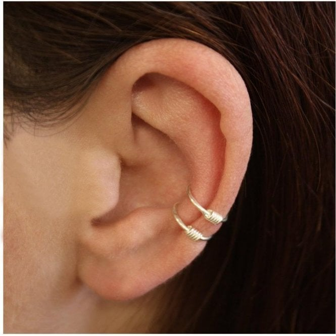 Double Spring Ear Cuff