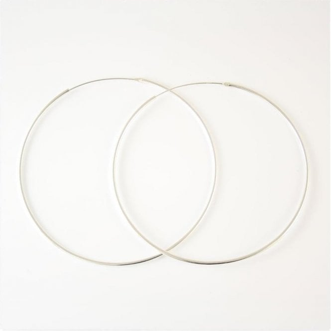 Extra Large Fine Hoop - 70mm