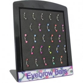 Eyebrow Bars Display