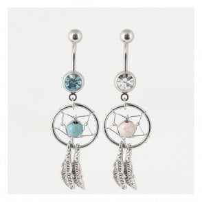 Feather Dreamcatcher Belly Bar