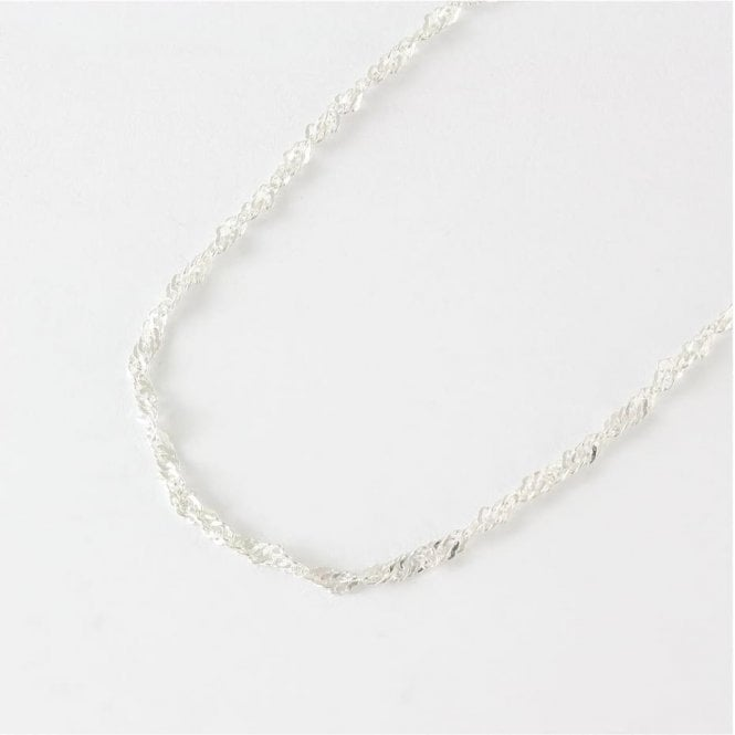 Fine Twisted Chain Anklet
