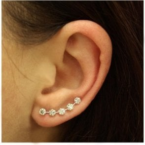 Gem Set Ear Crawler