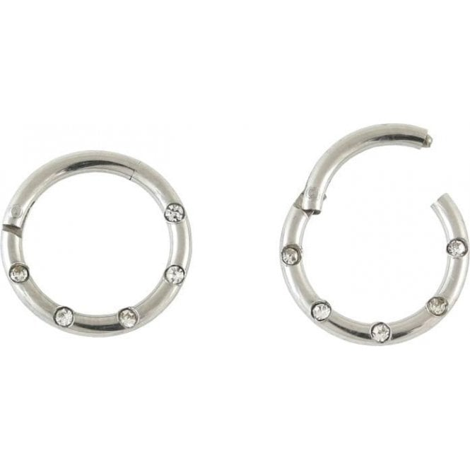 Gemset Hinged Segment Ring - 1.2mm