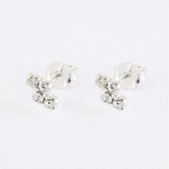 Gemset Z Shaped Studs