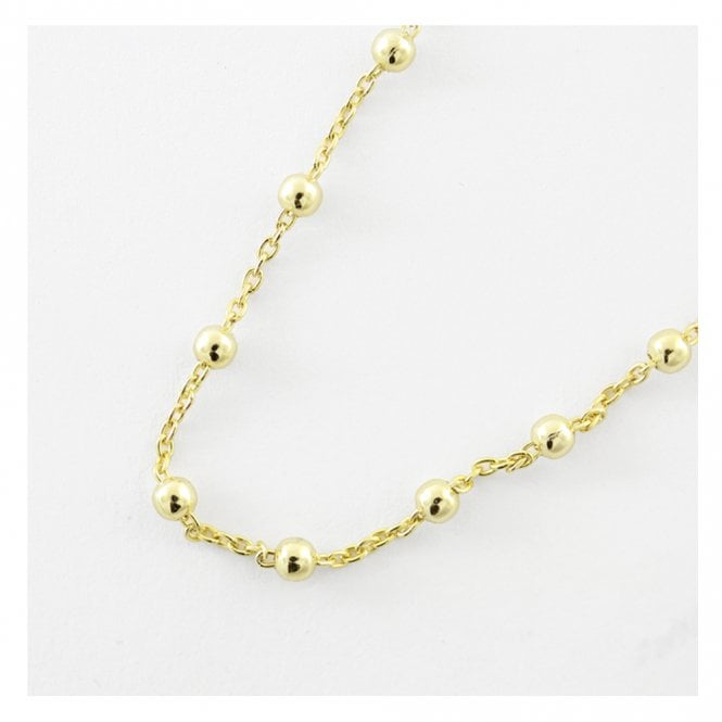Gold Ball Chain Anklet