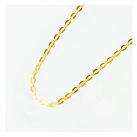 Gold Fine Link Chain Anklet