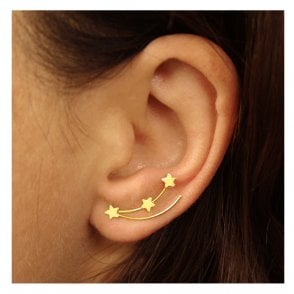 Gold Shooting Star Ear Crawler