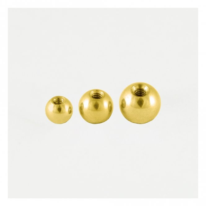 Gold Threaded Ball 1.2mm & 1.6mm