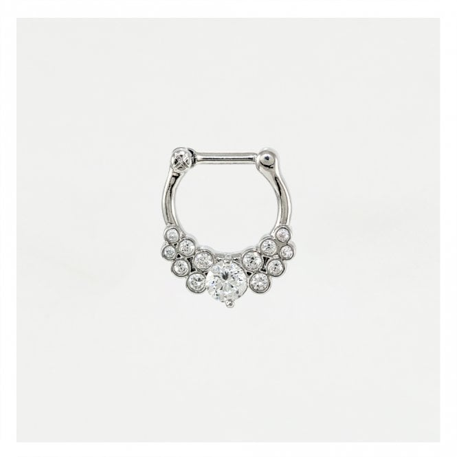 Gorgeous Glitzy Septum Clicker 1.2mm