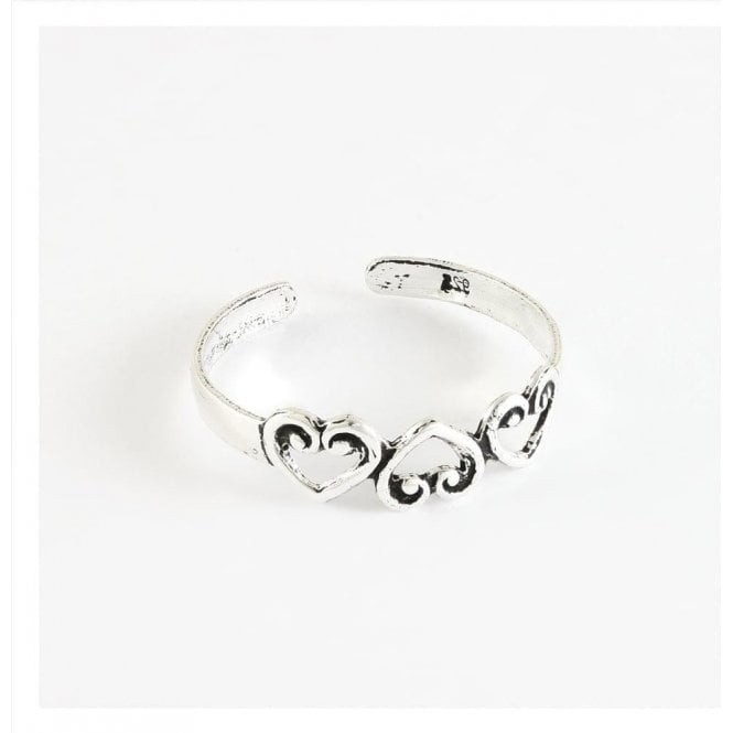 Heart Band Toe Ring