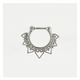 Hearts Mandala Septum Clicker 1.2mm