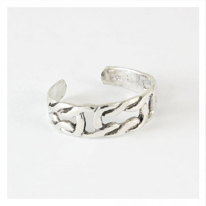 Intertwined Toe Ring