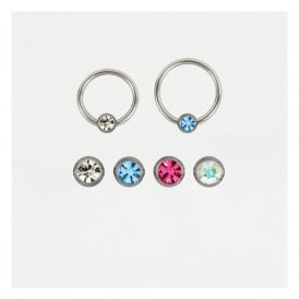 Jewelled Ball Closure Ring (BCR) - 1.2mm & 1.6mm